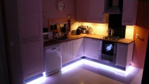 светодиодная лента в мебель
