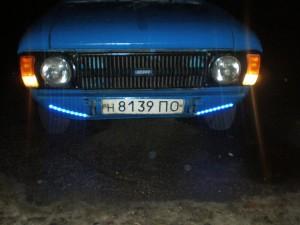внешняя подсветка авто